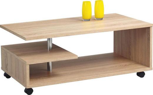 KLUB STOLIĆ - boje kroma/hrast Sonoma, Design, drvni materijal/plastika (105/42/60cm) - XORA