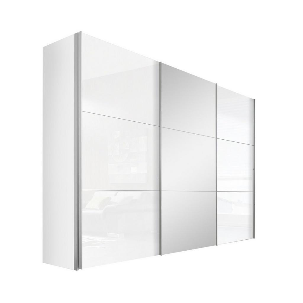Hom`in Schwebetürenschrank 3-türig weiß