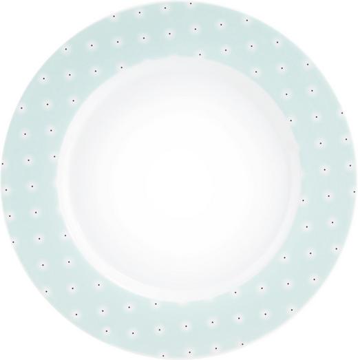 FRÜHSTÜCKSTELLER Keramik Porzellan - Türkis/Schwarz, Basics, Keramik (24cm) - Seltmann Weiden