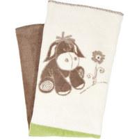 DEKA PLYŠOVÁ - krémová/zelená, Basics, textil (75/100cm) - My Baby Lou