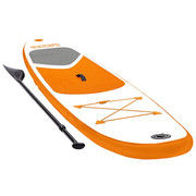STAND-UP BOARD I-SUP 1000 - Orange, Design, Kunststoff (305/71/10cm)