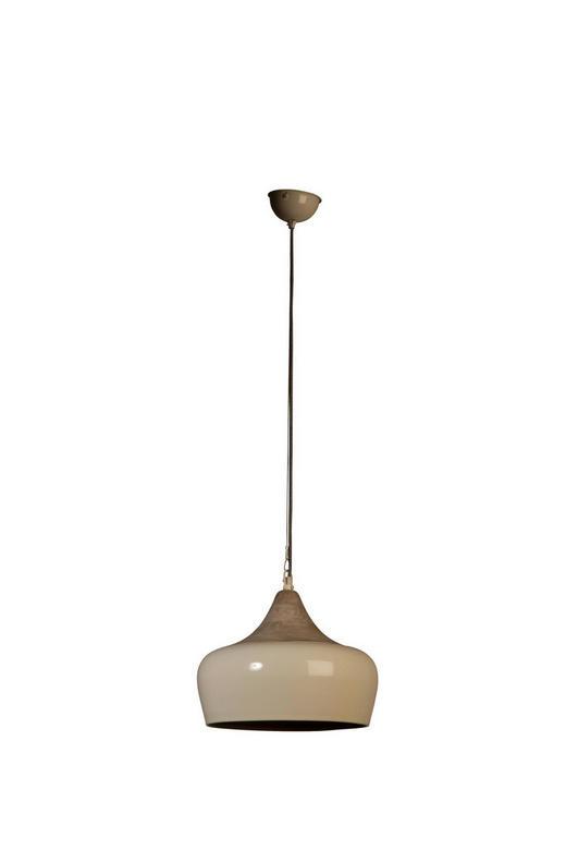 HÄNGELEUCHTE - Schwarz/Weiß, KONVENTIONELL, Holz/Metall (34/34/110cm)