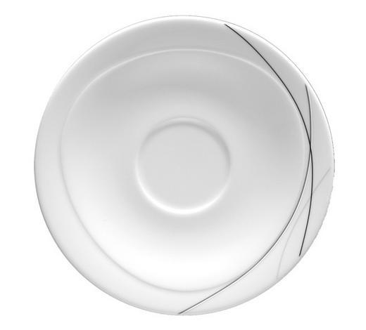 PODŠÁLEK, porcelán,  - bílá, Basics, keramika (17,5cm) - Seltmann Weiden