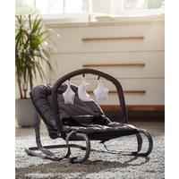 SCHAUKELWIPPE  - Silberfarben/Grau, KONVENTIONELL, Kunststoff/Textil (67/49/52cm) - My Baby Lou