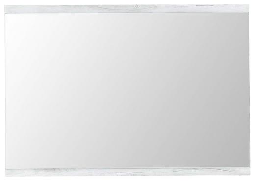 WANDSPIEGEL Weiß - Weiß, LIFESTYLE, Glas/Holzwerkstoff (100/70/3cm)