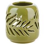 WINDLICHT - Grün, Basics, Keramik (11/12cm) - Ambia Home