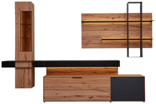 Kernbuche Wohnzimmer, wohnwand kernbuche vollmassiv anthrazit, buchefarben online kaufen, Design ideen