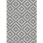 OUTDOORTEPPICH   - Dunkelgrau/Grau, KONVENTIONELL, Textil (80/150cm) - Novel