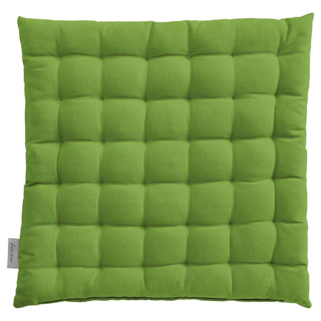 Bio:Vio Sitzkissen grün 38/38 cm