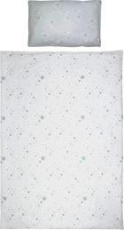 BABYBETTWÄSCHE 100/135 cm - Grau, Basics, Textil (100/135cm) - My Baby Lou