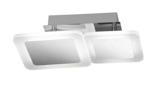 LED-DECKENLEUCHTE - Chromfarben, Design, Kunststoff/Metall (31/9/21cm)
