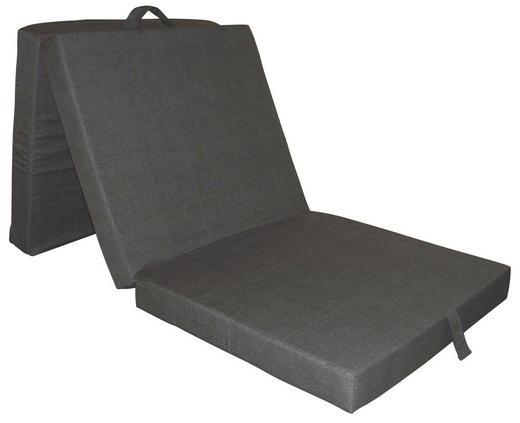 FALTMATRATZE 70/190 cm - Grau, Basics, Textil (70/190cm) - Carryhome