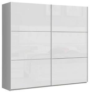 SKJUTDÖRRSGARDEROB - vit, Design, metall/träbaserade material (220/209,7/61,2cm) - Carryhome