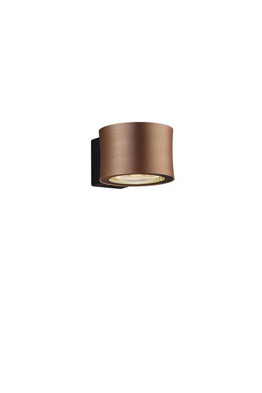 LED-WANDLEUCHTE - Goldfarben/Rosa, Design, Metall (8/12/16cm) - Bankamp