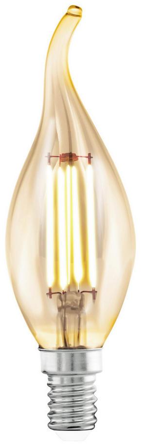 LED - klar, Basics, metall (12,1cm)