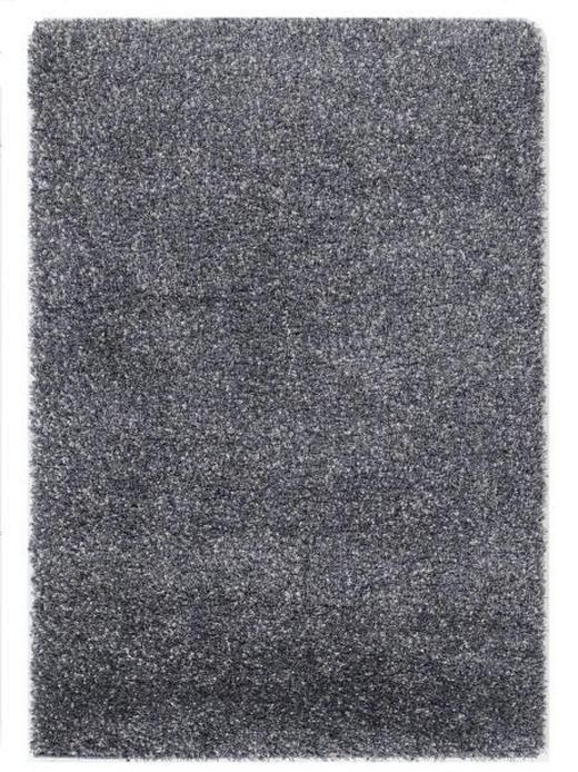 HOCHFLORTEPPICH  120/170 cm  gewebt  Blau, Grau - Blau/Grau, Basics, Textil (120/170cm) - Novel