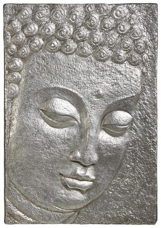 BILD - Silberfarben, Basics, Kunststoff (89/129cm) - Monee