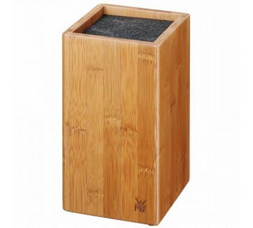 MESSERBLOCK  - Braun, Design, Holz/Kunststoff (12/12/24cm) - WMF