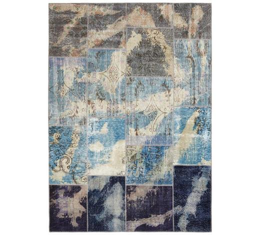 KOBEREC ORIENTÁLNÍ, 120/180 cm, modrá - modrá, Trend, textil (120/180cm) - Esposa
