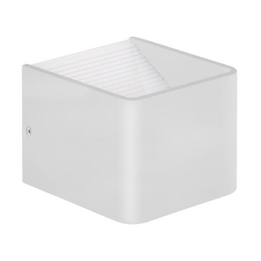LED-WANDLEUCHTE - Weiß, KONVENTIONELL, Metall (10/8/10cm)