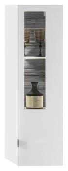HÄNGEELEMENT in Graphitfarben, Weiß - Silberfarben/Graphitfarben, Design, Glas/Holzwerkstoff (30/106/38cm) - Stylife