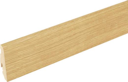 SOCKELLEISTE Eichefarben - Eichefarben, Basics, Holz (240/1,9/5,8cm) - Homeware