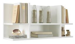 WANDREGAL - Weiß, Design, Holzwerkstoff (86/41/24cm) - Xora