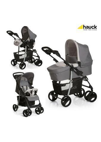 SET DJEČJIH KOLICA - siva/crna, Basics, tekstil/metal (84/52/107cm) - Hauck