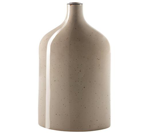 VÁZA, šedá - šedá, Design, keramika (17/7/28cm) - Ritzenhoff Breker