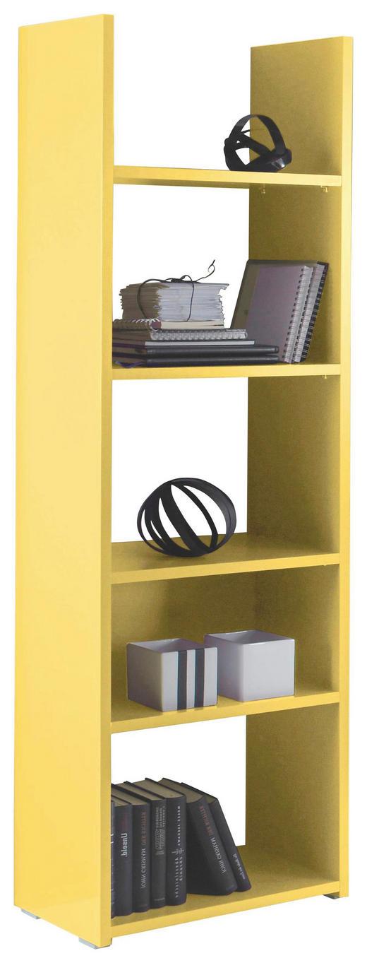 REGAL Gelb - Gelb/Grau, Design, Holzwerkstoff/Kunststoff (56/184/29cm) - Carryhome