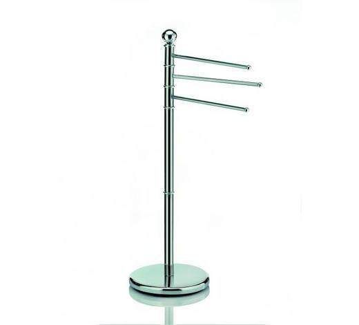 HANDTUCHHALTER Silberfarben - Silberfarben, Basics, Metall (92cm) - Kela