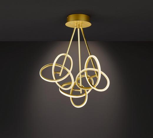 LED-DECKENLEUCHTE - Goldfarben, MODERN, Metall (60/60/30cm) - Wofi
