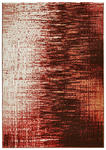 WEBTEPPICH  80/150 cm  Schwarz, Terra cotta - Terra cotta/Schwarz, Textil/Weitere Naturmaterialien (80/150cm) - Novel