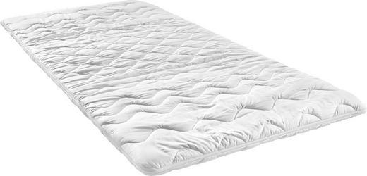 TOPPER 90/200 cm Schaumstoffkern - Weiß, Basics, Textil (90/200cm) - SLEEPTEX