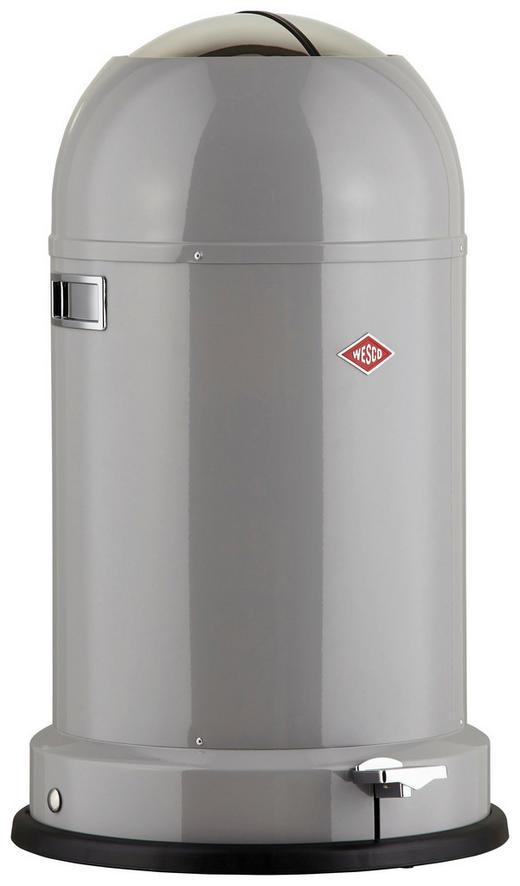 ABFALLSAMMLER kickmaster cl soft 33 L - Schwarz/Grau, Basics, Kunststoff/Metall (41/69cm) - Wesco