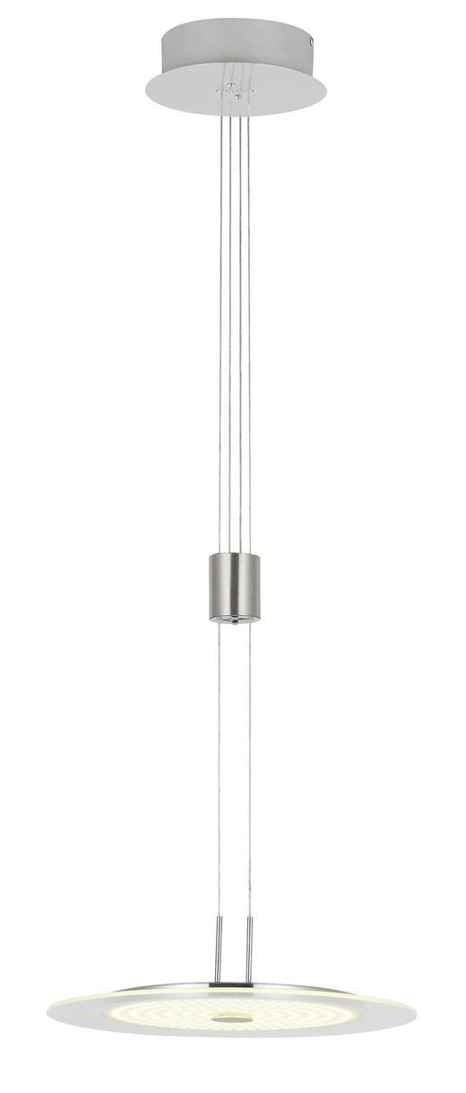 LED-HÄNGELEUCHTE - Chromfarben/Nickelfarben, Design, Metall (35/150/35cm)