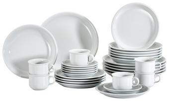 Porzellan  KOMBISERVICE 30-teilig - Weiß, Basics, Keramik (40/30/30cm) - Thomas