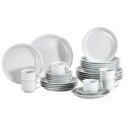 Porzellan  KOMBISERVICE 30-teilig - Weiß, Basics (40/30/30cm) - THOMAS