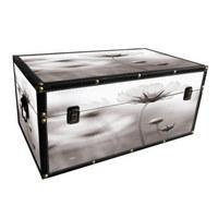 BOX DEKORAČNÍ - vícebarevná, Trend, kompozitní dřevo (48,5/28/22cm) - Ambia Home