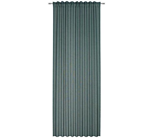 FERTIGVORHANG  halbtransparent  135/245 cm   - Smaragdgrün, Basics, Textil (135/245cm) - Esposa