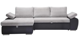 SOUPRAVA NA SEZENÍ, světle šedá, tmavě šedá, textil - tmavě šedá/světle šedá, Design, textil/umělá hmota (175/271cm) - Xora
