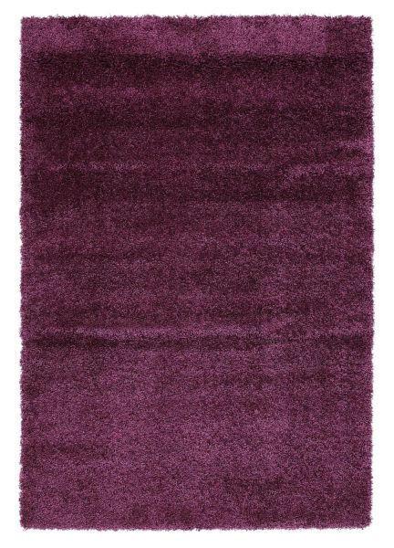HOCHFLORTEPPICH  80/240 cm  gewebt  Flieder - Flieder, Basics, Textil (80/240cm) - Novel