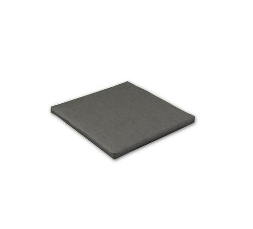 SITZKISSEN Graphitfarben  - Graphitfarben, Design, Textil (50/50/4cm)