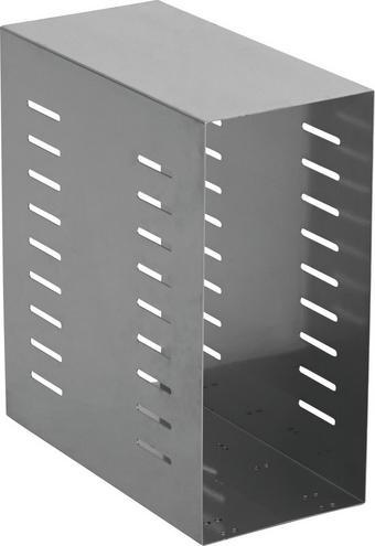 PC-HALTERUNG Metall Alufarben - Alufarben, KONVENTIONELL, Metall (21/47/42cm)