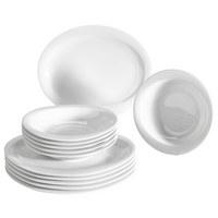 Porzellan  TAFELSERVICE  12-teilig - Weiß, Basics, Keramik (27/27/18cm) - Seltmann Weiden
