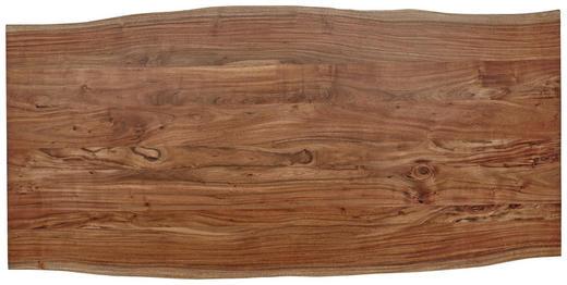 TISCHPLATTE Akazie massiv Akaziefarben - Akaziefarben, Design, Holz (200/100/3,8cm) - Valdera