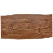 TISCHPLATTE in massiv Akazie Akaziefarben - Akaziefarben, Natur, Holz (180/90/3,8cm) - Valdera