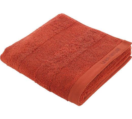 HANDTUCH 50/100 cm - Orange, Natur, Textil (50/100cm) - Linea Natura