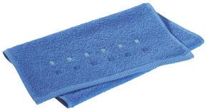 GÄSTHANDDUK - blå, Klassisk, textil (30/50cm) - Esposa