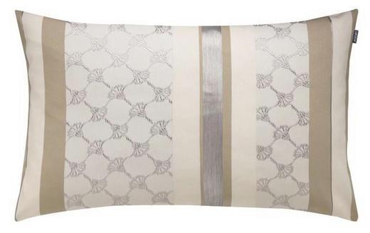 KISSENHÜLLE Beige, Braun, Creme 40/60 cm - Beige/Creme, Textil (40/60cm) - Joop!